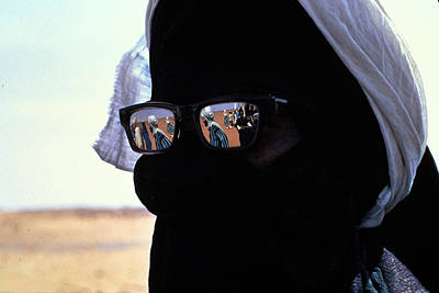 Tuareg With Sunglasses Art Print