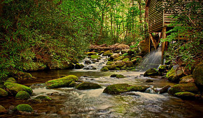Photograph - Tub Mill by Dave Bosse