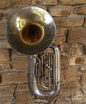 Photograph - Tuba by Cathy Donohoue