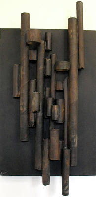 Cardboard Mixed Media - Tube by Ralph Levesque