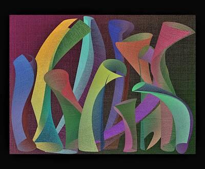 Digital Art - Tubes by David Pantuso