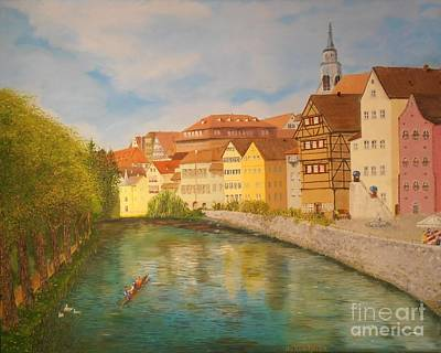 Tubingen In Sunlight Original by James Rodriguez