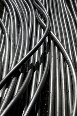 Photograph - Tubular Abstract Art Number 13 by James BO  Insogna