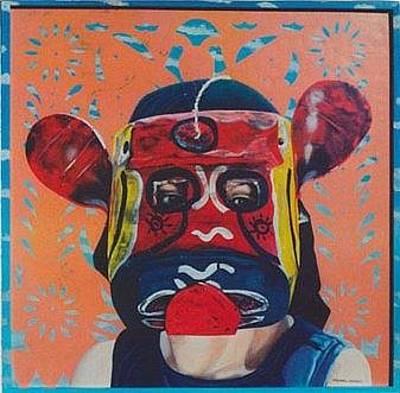 Painting - Tubular Ears by Michael Earney