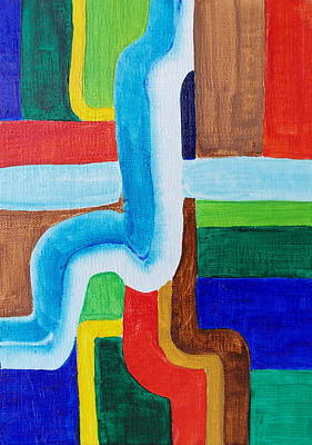Painting - Tubular by Michele Myers
