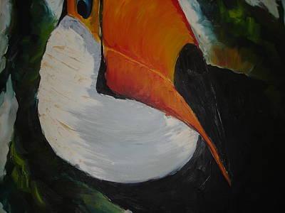 Tuca Art Print by Ana Picolini