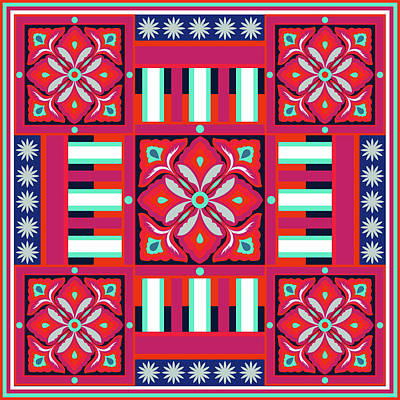 Indigenous Culture Painting - Tuck Art 1 624 3 by Mawra Tahreem