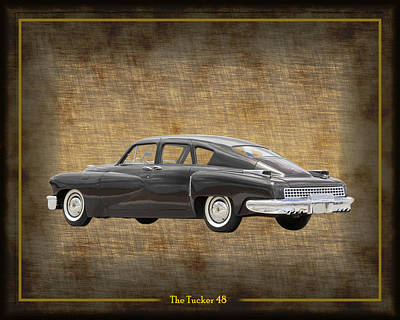 Photograph - Tucker 48 by Jack Pumphrey