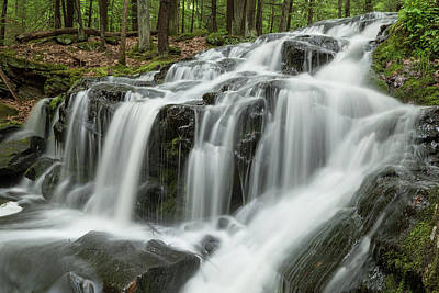 Photograph - Tucker Brook Falls 1 by Brian Hale