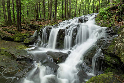 Photograph - Tucker Brook Falls 2 by Brian Hale