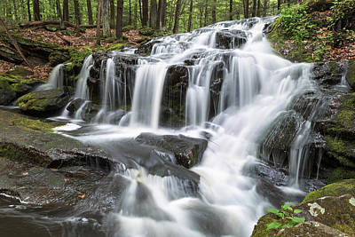 Photograph - Tucker Brook Falls 3 by Brian Hale