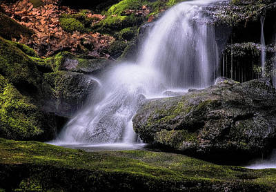 Photograph - Tucker Falls by Tom Singleton