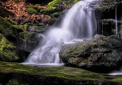 Photograph - Tucker Falls by Tom Singleton