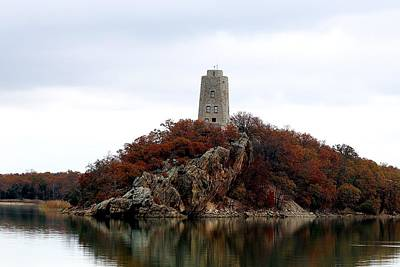 Photograph - Tucker Tower In Fall by Sheila Brown