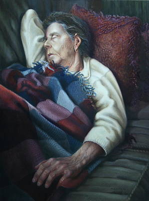 Painting - Tuckered Out by William Albanese Sr
