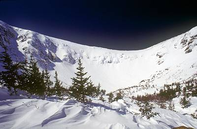 New Hampshire Photograph - Tuckerman Sastrugi by Tim  Canwell