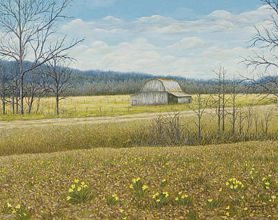 Painting - Tucker's Barn by Mary Ann King