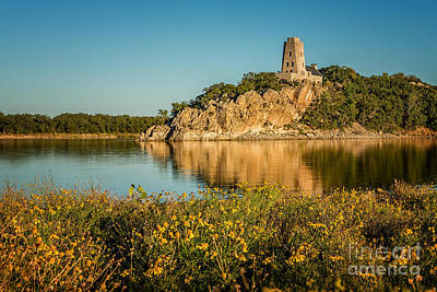 Photograph - Tucker's Tower And Wildflowers by Tamyra Ayles