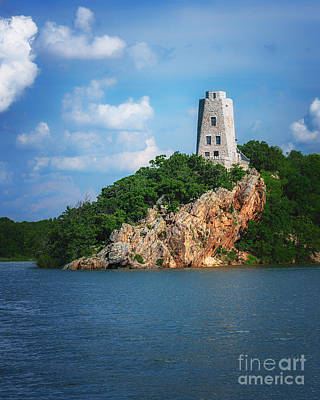 Photograph - Tucker's Tower Gentle Summer Day by Tamyra Ayles