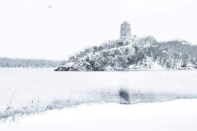 Photograph - Tucker's Tower In Winter by Tamyra Ayles