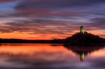 Tuckers Tower Sunrise Art Print