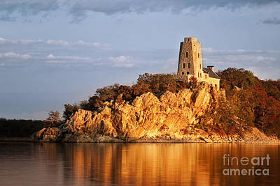 Photograph - Tucker's Tower Sunset Glow by Tamyra Ayles