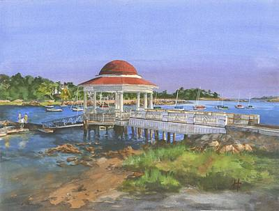 Cape Cod Painting - Tucks Point by Holly Young