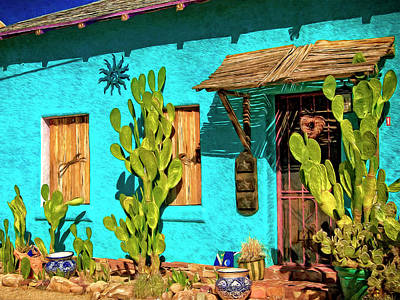 Painting - Tucson Blue by Sandra Selle Rodriguez
