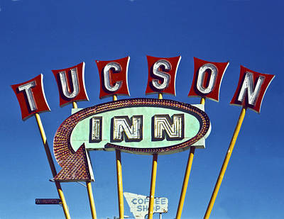 Tucson Inn Art Print by Matthew Bamberg