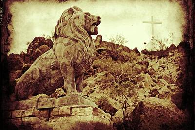 Photograph - Tucson Lion by Alice Gipson