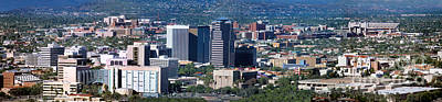 Photograph - Tucson Skyline, Arizona by Wernher Krutein