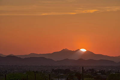 Photograph - Tucson Sunset by Dan McManus