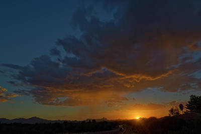 Photograph - Tucson Sunset H12 by Mark Myhaver