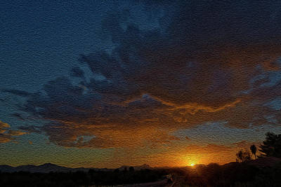 Photograph - Tucson Sunset Op14 by Mark Myhaver