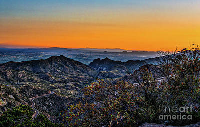 Southwest Photograph - Tucson Sunset by Tod and Cynthia Grubbs