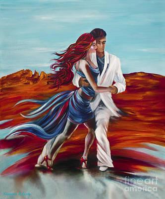 Tucson Tango Art Print by Summer Celeste