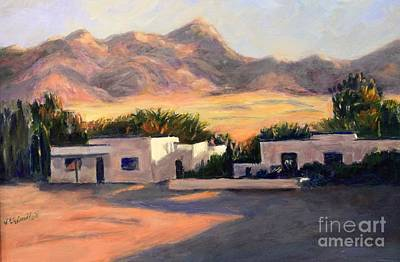 Painting - Tucson,az by Marcia Dutton