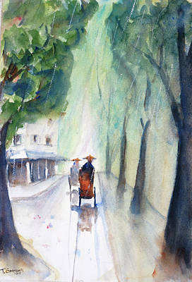 Painting - Tudo Street Saigon 10 by Tom Simmons