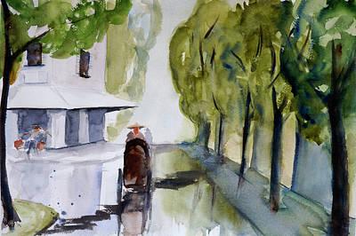 Painting - Tudo Street, Saigon-3 by Tom Simmons