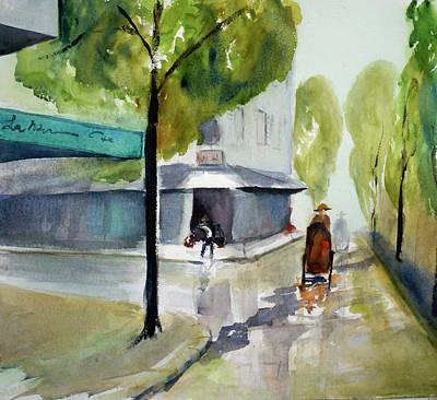 Painting - Tudo Street, Saigon11 by Tom Simmons