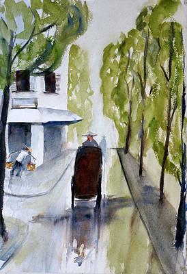 Painting - Tudo Street, Saigon12 by Tom Simmons