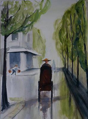 Painting - Tudo Street, Saigon13 by Tom Simmons