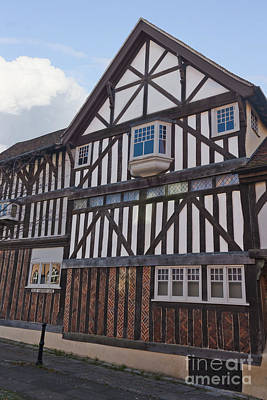 Photograph - Tudor House Blue Anchor Lane Southampton by Terri Waters