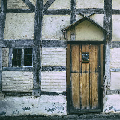Old House Photograph - Tudor House by Joana Kruse