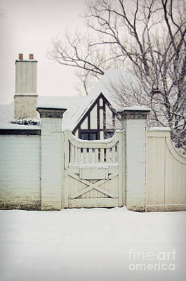 Photograph - Tudor In Winter by Jill Battaglia
