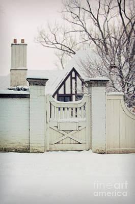 Photograph - Tudor In Winter by Jill Battaglia