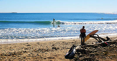 Rincon Beach California Photograph - Tuesday At Rincon by Ron Regalado