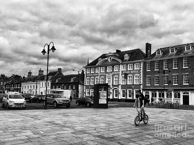 Kings Lynn Photograph - Tuesday Market Place Kings Lynn by John Edwards