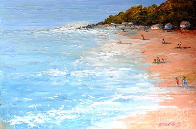 Painting - Tuesday On Maui by Fred Wilson
