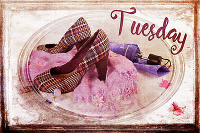 Photograph - Tuesday Shoes by Randi Grace Nilsberg